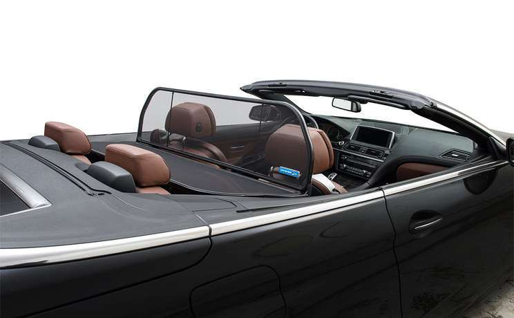 Bmw 6 series 640 650 m6 convertible 2011 to 2015 wind deflector from love the drive
