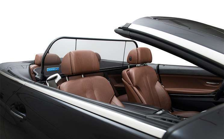 Bmw 6 series 630i 645c 650i m6 convertible 2004 to 2010 with windstop wind deflector from love the drive