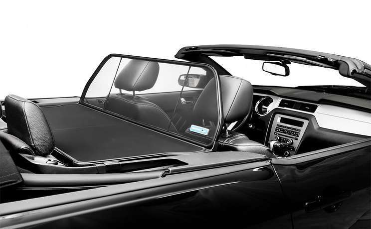 Mustang convertible wind deflector by love the drive for 2005 to 2014 c