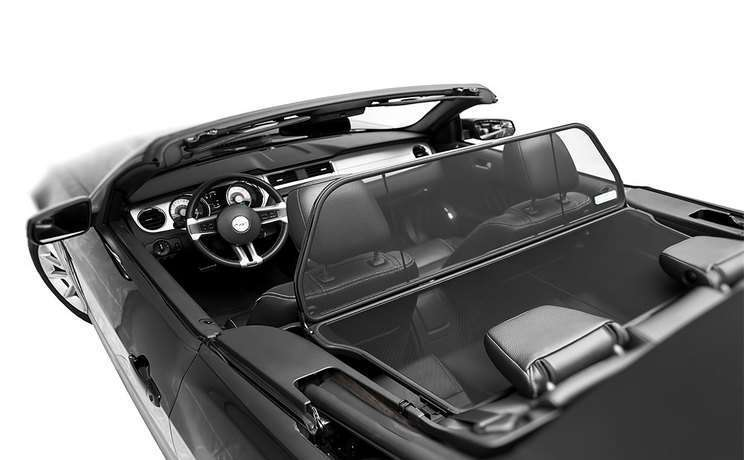 Mustang convertible wind deflector by love the drive for 2005 to 2015 f