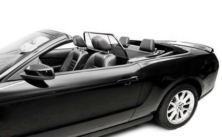 Wind Deflector For Mustang Convertible From To By Love The Drive