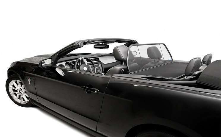 Wind deflector mustang convertible 2005 to 2014 by love the drive 2