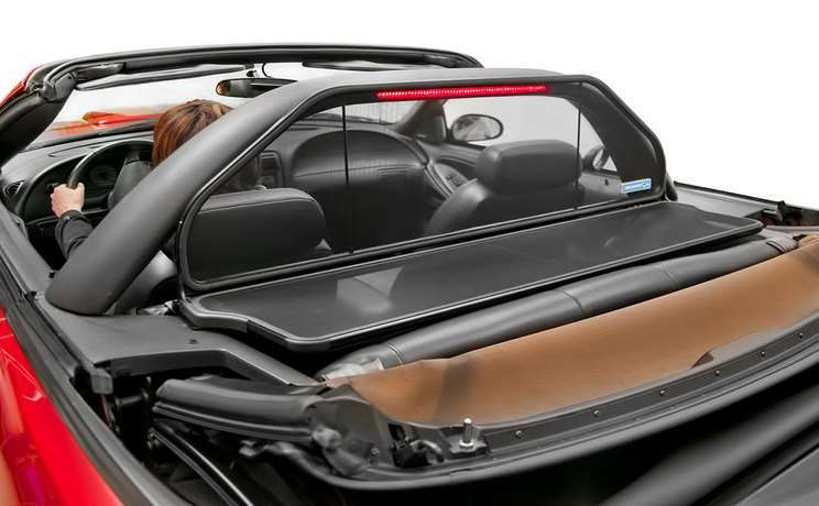 Wind deflectors are the 1 accessory for convertibles cars mustang windscreen 1994 to 2004 light bar 1 aloadofball Images