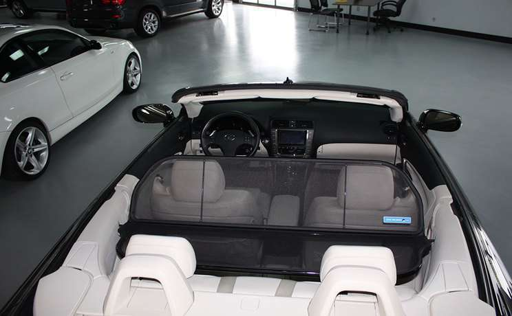 Lexus windscreen is 250 350 convertible