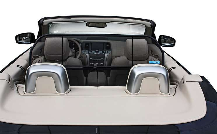 Nissan murano convertible wind deflector windscreen windstop by love the drive