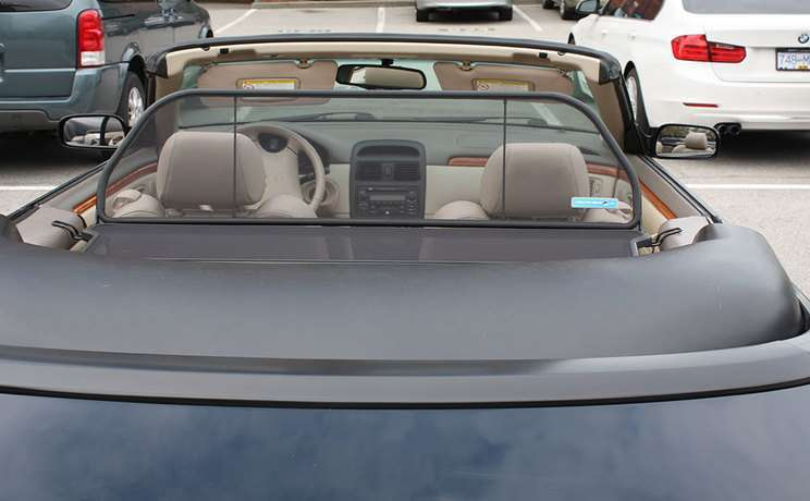 Solara windscreen 1999 to 2003 1