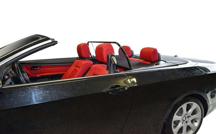 Wind deflectors are the #1 accessory for convertibles cars