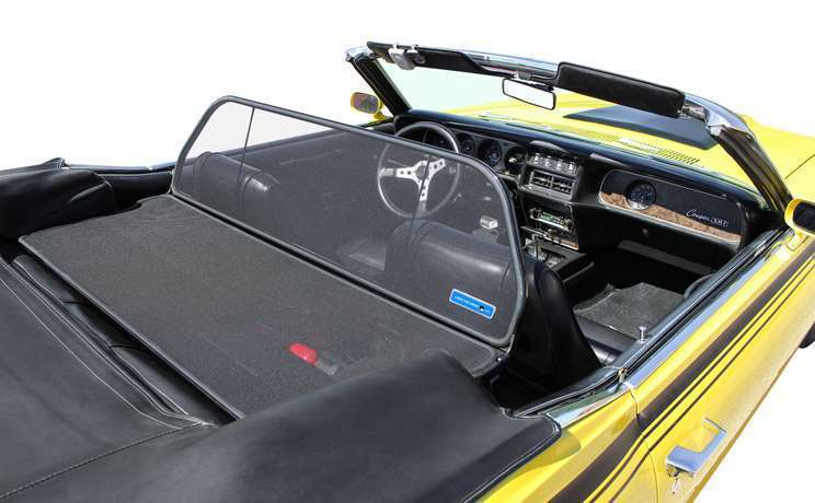 Cougar convertible wind deflector fit 1967 to 1970