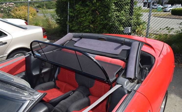 Camaro and firebird convertible wind deflector drivers side for 1993 to 2002 by love the drive