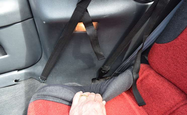 Camaro and firebird convertible wind deflector straps for 1993 to 2002 by love the drive 3