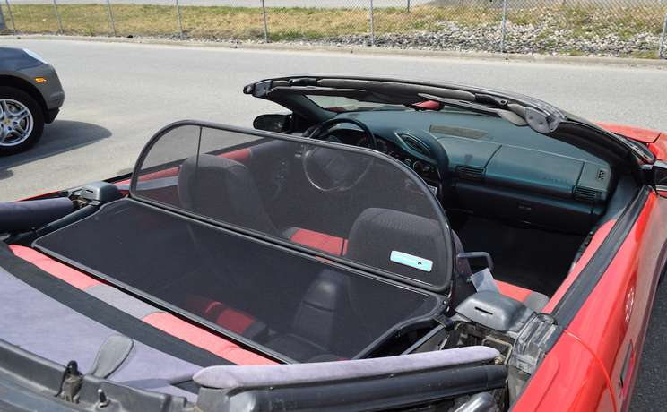 Camaro convertible wind deflector for 1993 to 2002 by love the drive