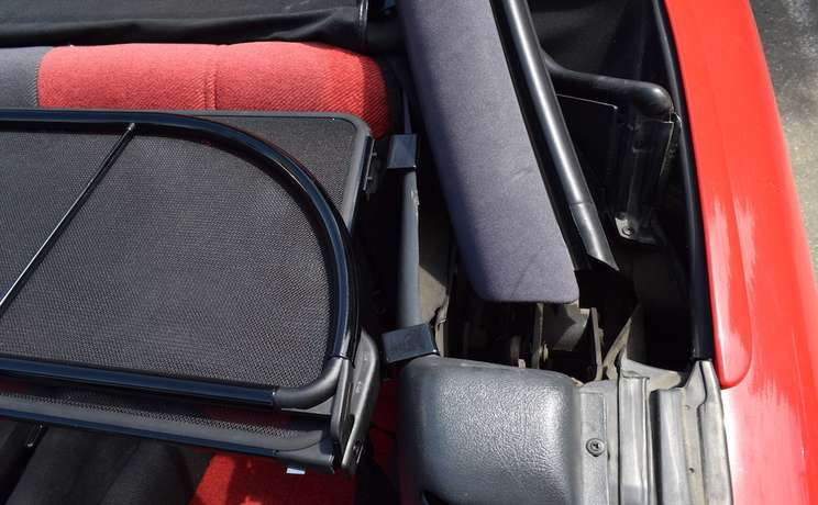 Camaro firebird convertible wind deflector front brackets for 1993 to 2002 by love the drive