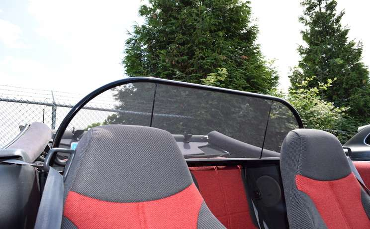 Firebird camaro convertible wind deflector for 1993 to 2002 by love the drive