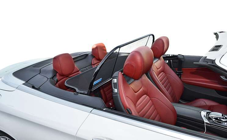 C class mercedes convertible wind deflector the  1 accessory