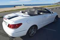 Mercedes convertible e350 and e550 wind deflector love the drive
