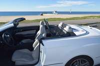 Mercedes e350 and e550 convertible wind deflector by love the drive