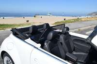 Vw beetle convertible from 2012 to 2019 wind deflector by love the drive beach