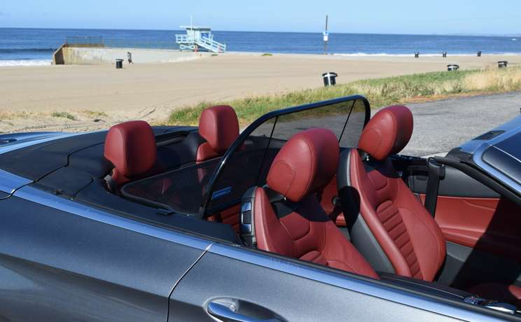 Mercedes convertible wind deflector are the  1 accessory for c class mercedes