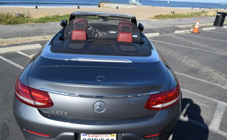 Mercedes convertible wind deflector the  1 accessory for c class mercedes by love the drive